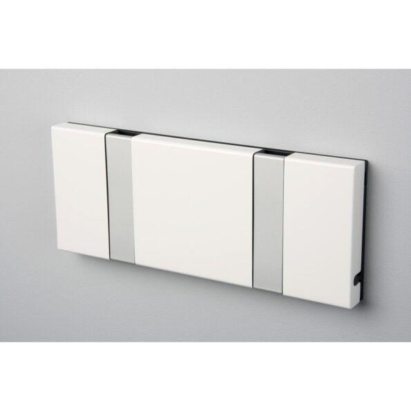 Knax 2 knagger, hvit