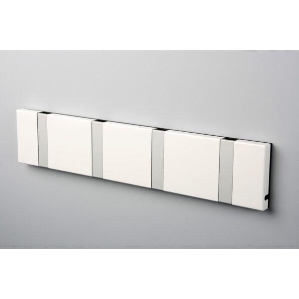 Knax 3 knagger hvit