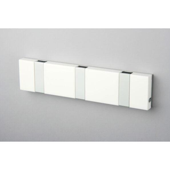 Knax Lite 3 knagger, hvit