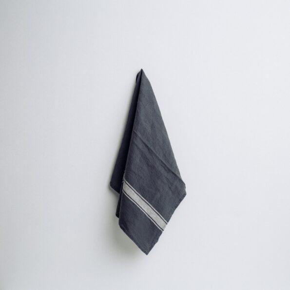 Viva kjøkkenhåndkle Navy/grå