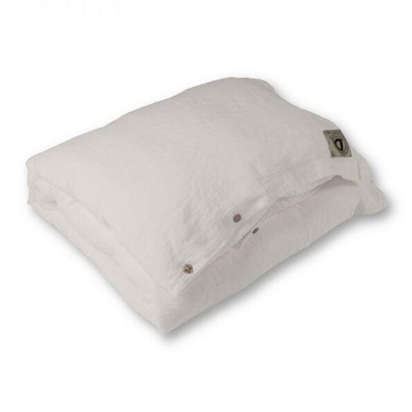 Sengetøy enkel animeaux Very White – Dirty Linen