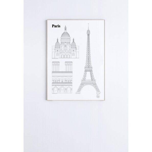 Paris 50×70