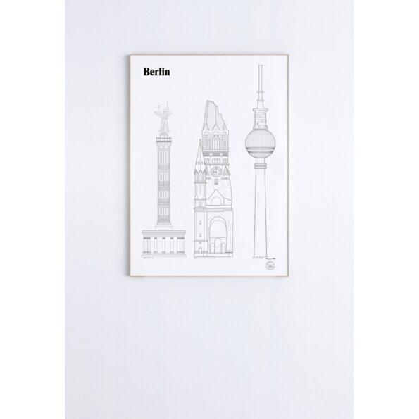 Berlin 50×70