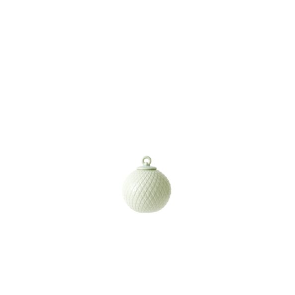 Rhombe bauble. soft green