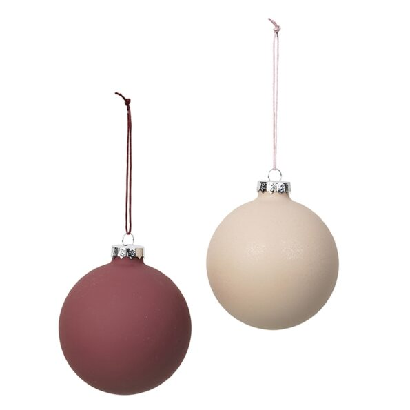 Deco ball – pink / red