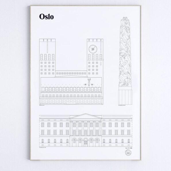 Oslo 50 x 70