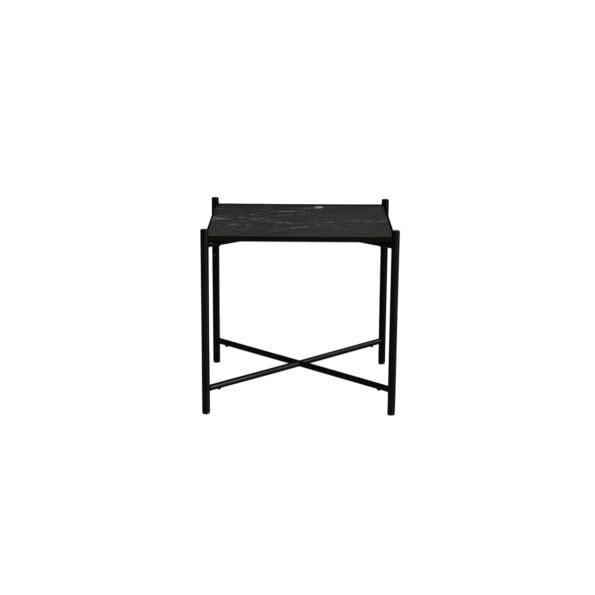 Side table black/black