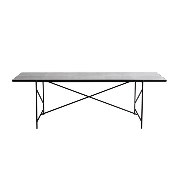 Dining table 230 white/black