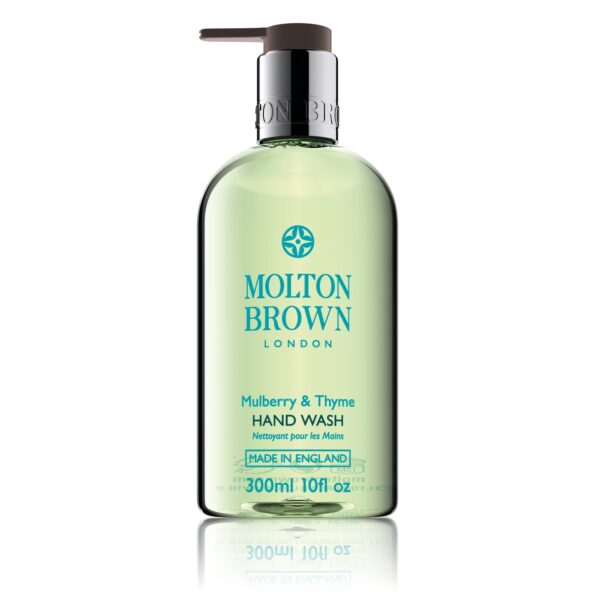 Molton Brown mulberry and thyme handwash