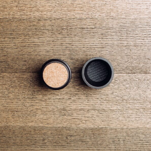 Spice grinder box