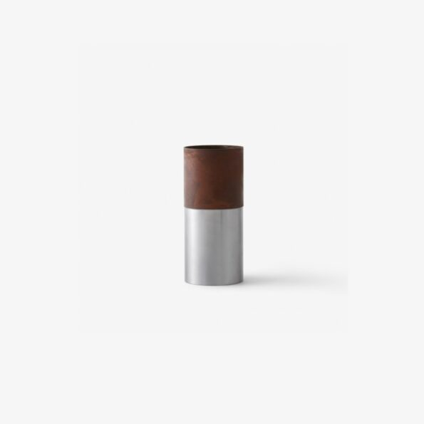 True Colour Vase LP7 Brown Steel high
