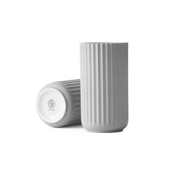 Lyngby vase 20cm lys grå