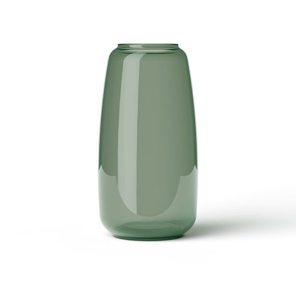 Form Vase 130/3, Copenhagen Green
