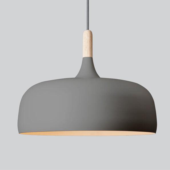 Acorn Pendellampe grå