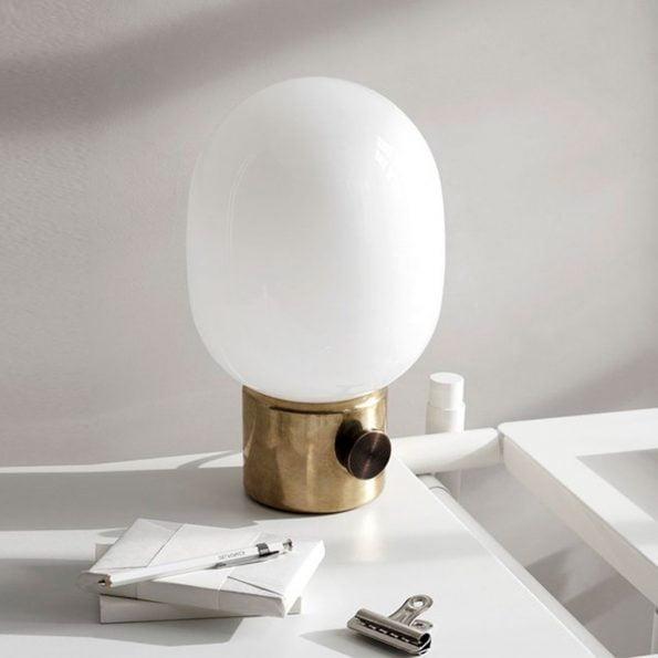 JWDA messing lampe