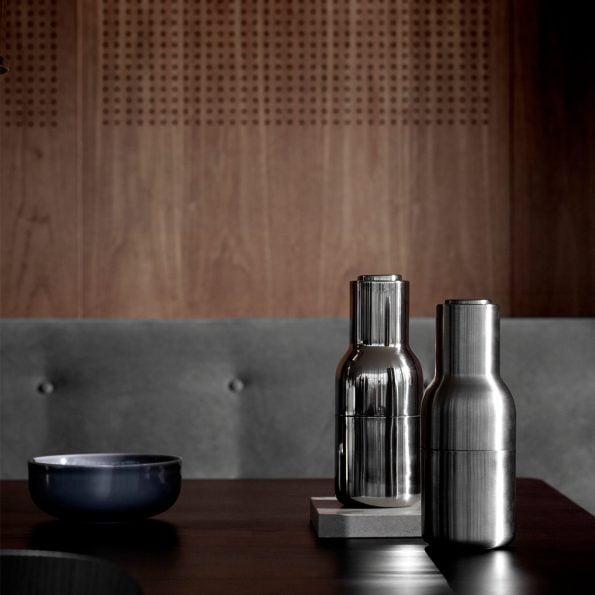 Bottlegrinder stainless steel