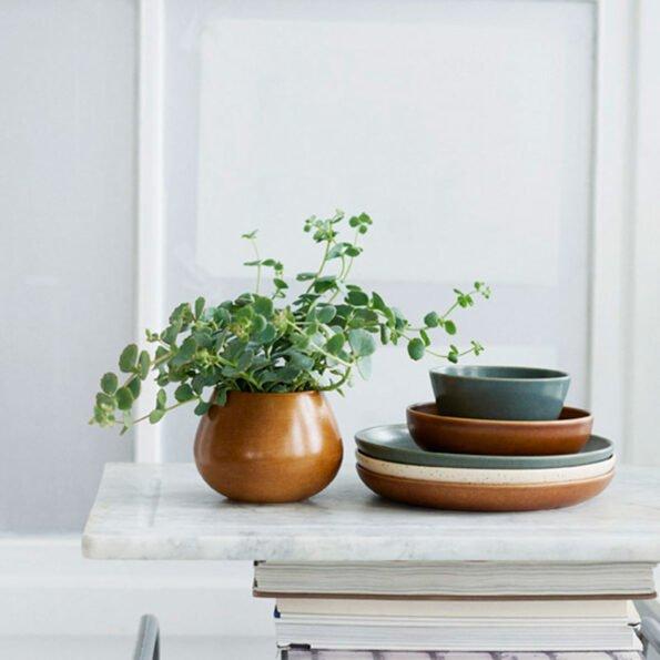 Land vase – Rustrød