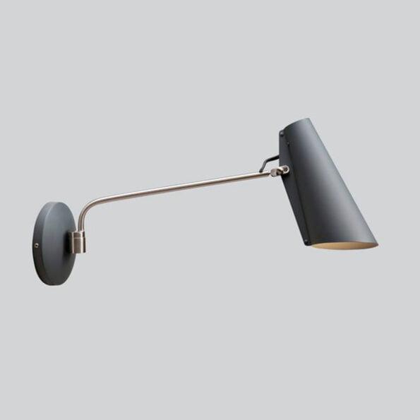 Birdy Vegglampe Grå