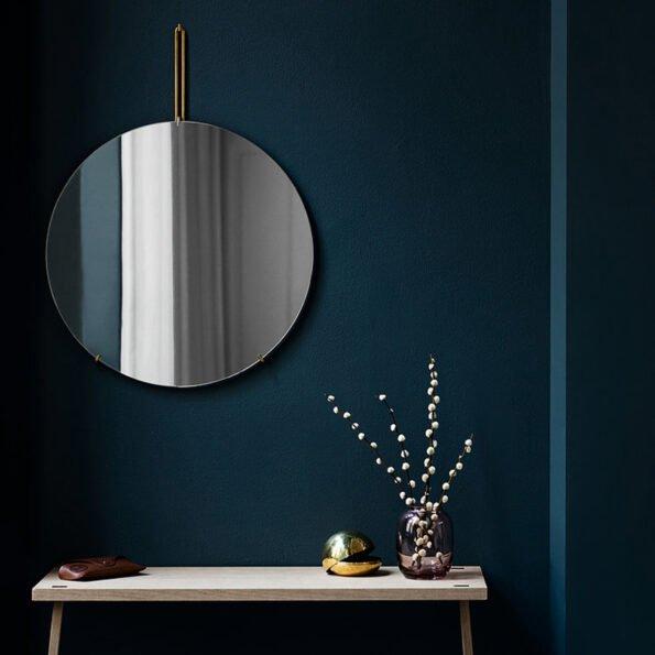 Speil 70 cm – messing