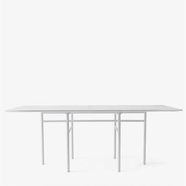 Snaregade rektangulært bord – Lysegrå