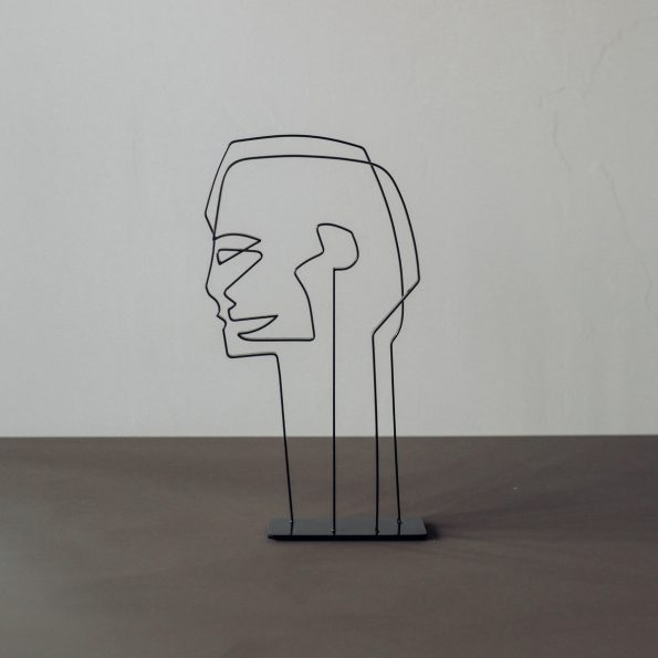 Kristiina – Metallskulptur
