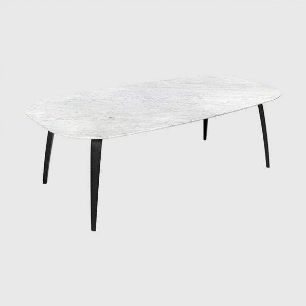 Gubi Spisebord elipse, marmor