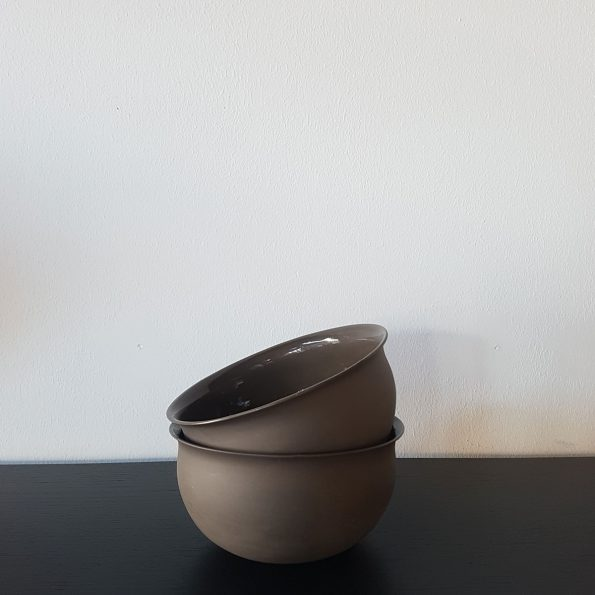 Vesle skål – Mørkebrun